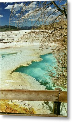 Norris Hot Spring Metal Print by Greg Norrell