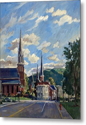 North Adams Massachusetts Metal Print by Thor Wickstrom