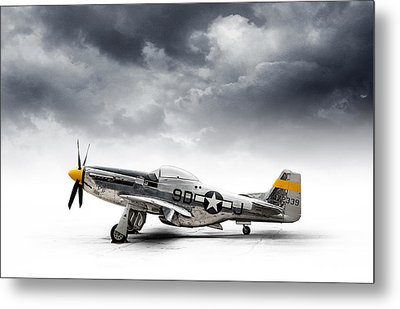 North American P-51 Mustang Metal Print by Douglas Pittman