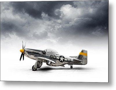North American P-51 Mustang Metal Print