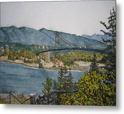North And West Metal Print by Shirley Braithwaite Hunt