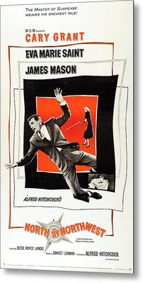 North By Northwest 1959 Metal Print by Mountain Dreams