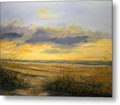 North Captiva Sunset Metal Print