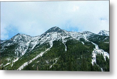 North Cascades Highway Spring View Landscape Photography By Omas Metal Print by Omaste Witkowski