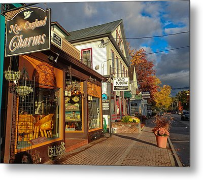 North Conway Village 3 Metal Print