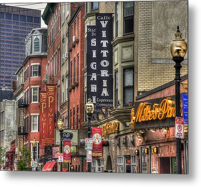 North End Charm 11x14 Metal Print