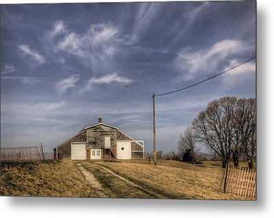 North Fork Farm Metal Print