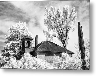 North Grove Firehouse Metal Print by Jeff Holbrook