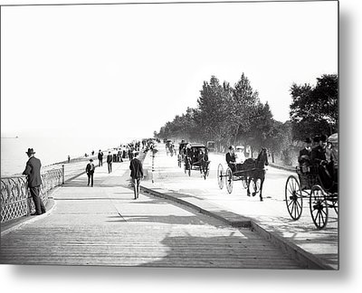 North Lake Shore Drive - Chicago 1905 Metal Print by Daniel Hagerman