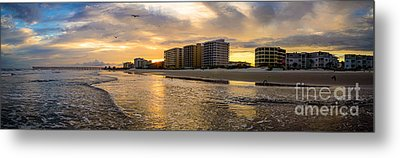 North Myrtle Beach Sunset Metal Print by David Smith