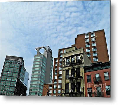 North Of Canal Metal Print by Sarah Loft
