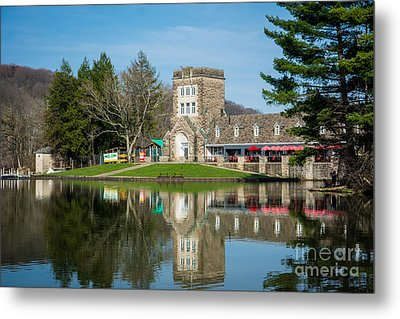 North Park Boat House Pittsburgh Pennsylvania Metal Print by Amy Cicconi