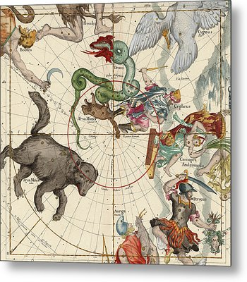 North Pole Metal Print by Ignace-Gaston Pardies