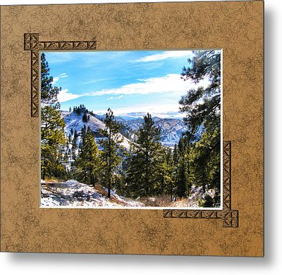 Metal Print featuring the photograph North View by Susan Kinney