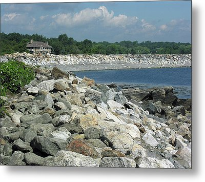 Northeast Us, Atlantic Coast, Rye Nh Metal Print