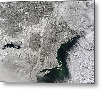 Northeast Winter 2015 Metal Print by Science Source