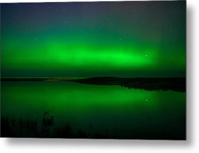 Northen Lights Metal Print