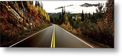 Northern Highway Yukon Metal Print by Mark Duffy