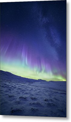 Northern Light Metal Print by Tor-Ivar Naess