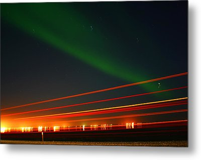 Northern Lights Metal Print by Anthony Jones
