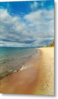 Northern Shore Metal Print by Michelle Calkins