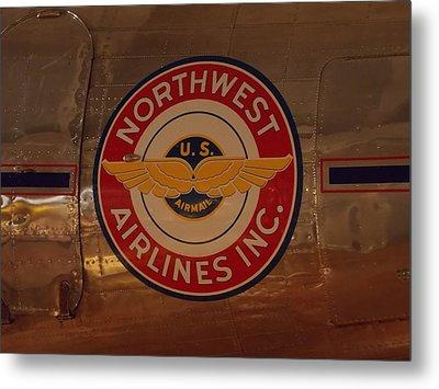 Northwest Airlines 1 Metal Print
