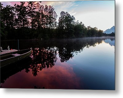 Northwoods Dusk Metal Print