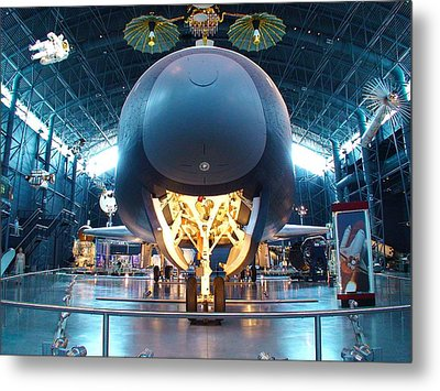 Nose Down - Enterprise Metal Print by Charles Kraus