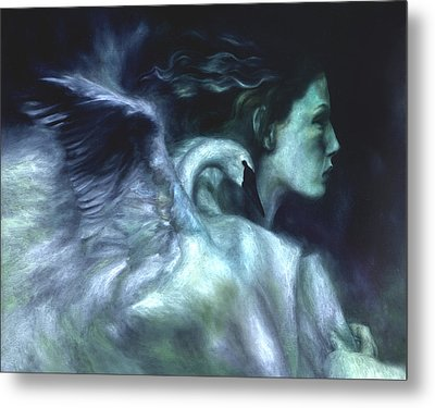 Metal Print featuring the painting Nostalgia by Ragen Mendenhall