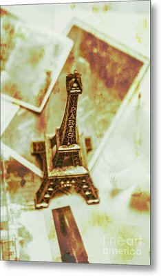 Nostalgic Mementos Of A Paris Trip Metal Print