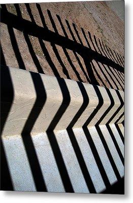 Not A Zebra Metal Print by Susanne Van Hulst