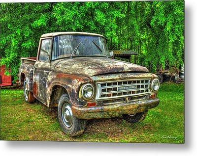 Not For Sale 1965 International Pickup Truck Metal Print by Reid Callaway