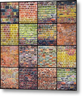 Not Just A Brick In The Wall Metal Print