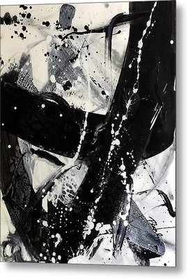 Not Just Black And White3 Metal Print