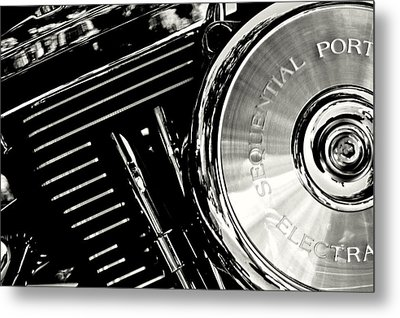 Not My Harley Metal Print