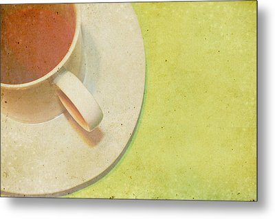 Not Starbucks II Metal Print by Rebecca Cozart