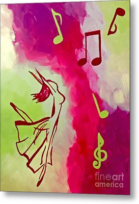 Notes Of Delight Metal Print by Jilian Cramb - AMothersFineArt