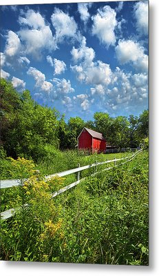 Noticing The Days Hurrying By Metal Print