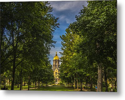 Notre Dame University 2 Metal Print