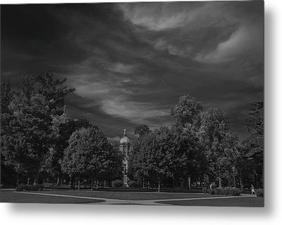 Metal Print featuring the photograph Notre Dame University 6a by David Haskett