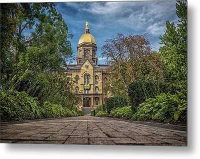 Notre Dame University Q1 Metal Print by David Haskett
