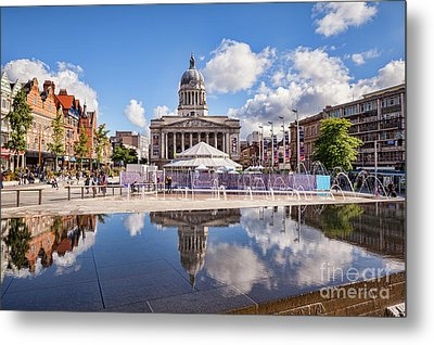 Metal Print featuring the photograph Nottingham, England by Colin and Linda McKie