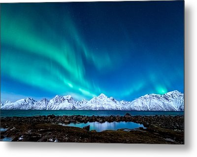 November Night Metal Print by Tor-Ivar Naess