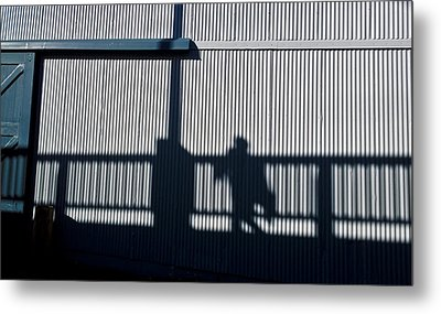 Metal Print featuring the photograph Nowhere Man by Tom Vaughan
