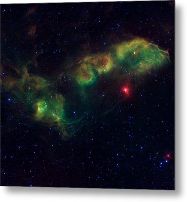 Nu Scorpii Or Jabbah V Sco, 14 Scorpii A Star System In The Constellation Scorpius Metal Print by American School