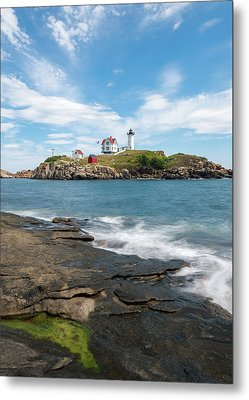 Nubble Light IIi Metal Print by Sharon Seaward