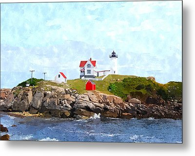 Nubble Light Nlwc Metal Print