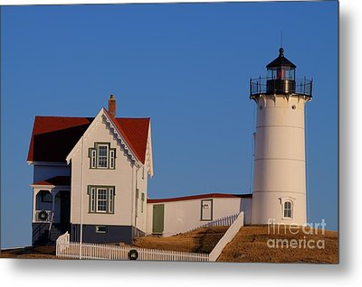 Metal Print featuring the photograph Nubble Lighthouse by David Bishop