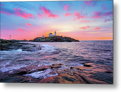 Nubble Sunrise Surprise Metal Print