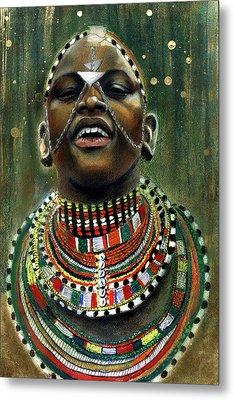 Nubian Dream Metal Print